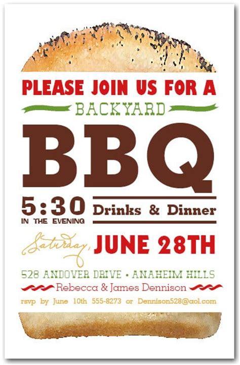 billboard hamburger party invitations