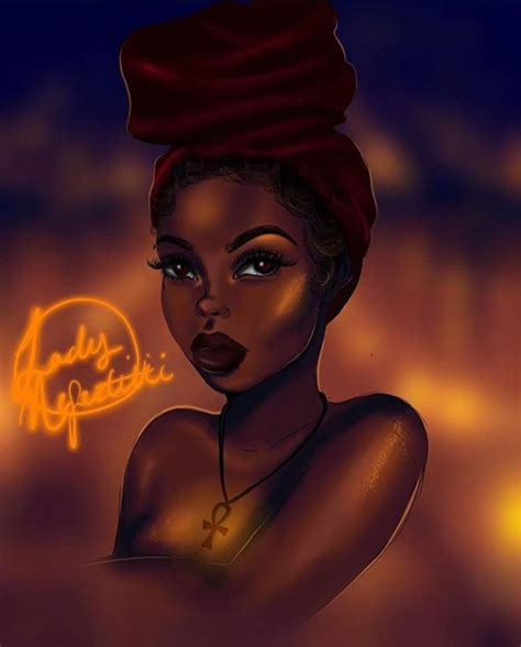 While proving black girls do indeed watch cartoons! MELANIN GODDESS 💜 #VirginPearlsCollection Ideas you might love 💜 Melanin Relationships = Melanin ...