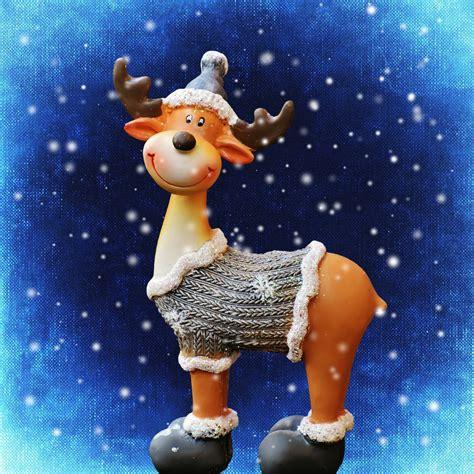 bildet vinter hjort leketoy deco elg advent jul
