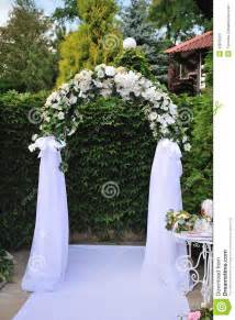 wedding arch stock photos image 32879623