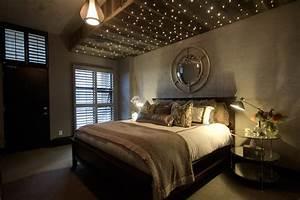 Holzdecke Led Beleuchtung : sternenhimmel mit led glasfasern gestalten f r bezaubernde lichteffekte ~ Sanjose-hotels-ca.com Haus und Dekorationen