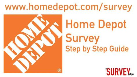 depot survey www homedepot survey complete home depot survey win Home