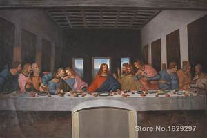 online buy wholesale leonardo paintings from china With best brand of paint for kitchen cabinets with the last supper wall art