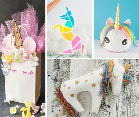 easy magical unicorn crafts  crafty blog stalker