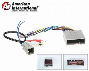 Audiophile Car Stereo Cd Player Wiring Harness Wire Aftermarket Radio Install
