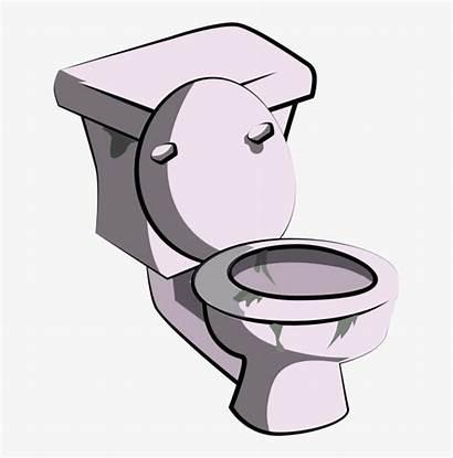 Toilet Clipart Clip Cartoon Transparent Bathroom Restroom