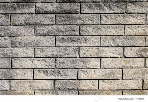 Modern Gray Brick Wall Background
