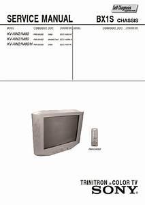 Sony Kv-aw21m80 Service Manual