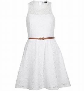 robe dentelle blanche robes jennyfer With robe blanche pimkie