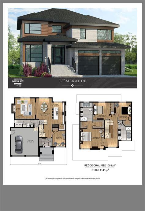 Maison Sims house plans Contemporary house plans