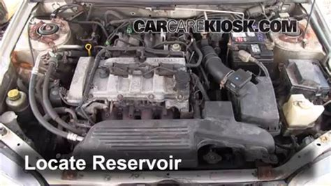 how things work cars 2000 mazda protege engine control check windshield washer fluid mazda protege 1999 2003 2000 mazda protege lx 1 6l 4 cyl