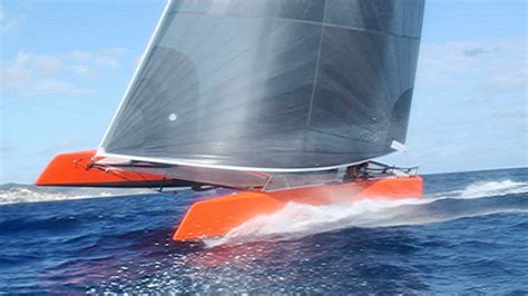 Gunboat G4 Catamaran Capsize by Gunboat G4 Test Sailing St Maarten Catamaran Racing