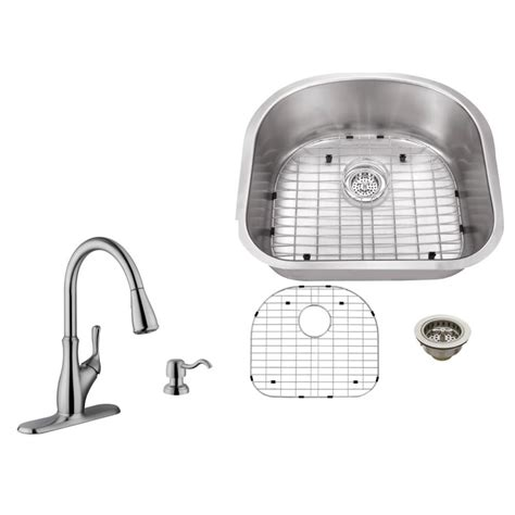 kitchen sink company ipt sink company undermount 23 in 16 stainless 2634