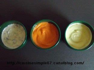 cuisine pierrade sauces pour pierrade ou fondue cuisine simple et facile