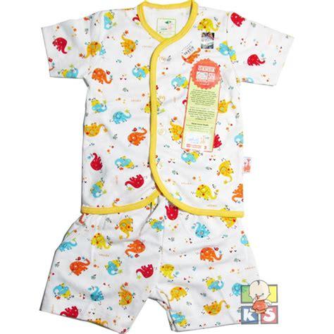 baju bayi motif set velvet junior lengan celana pendek