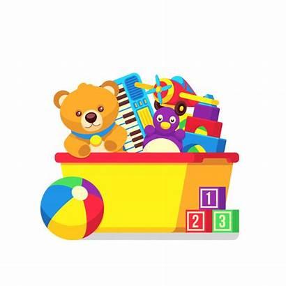 Toys Clipart Box Vector Juguetes Toy Cartoon