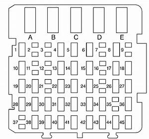 98 Buick Regal Fuse Box Diagram