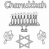 Coloring Pages Chanukah Hanukkah Printable Happy Chanukkah Scribblefun Getcoloringpages sketch template