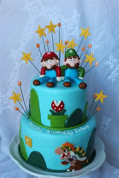 Mario Luigi Cakes Birthday Cake Decoration Idea
