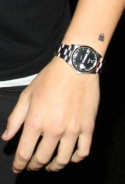 Padlock Tattoo Harry Styles'