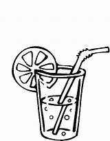 Drink Drinks Coloring Pages sketch template