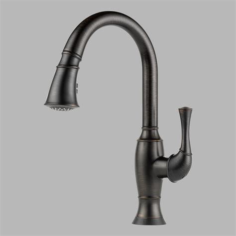 brizo faucets kitchen brizo 64003lf rb talo single handle pul kitchen