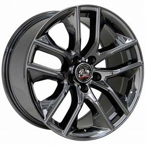 Ford® 2015 Mustang® Style Replica Wheels Black Chrome 18x10/18x9 SET