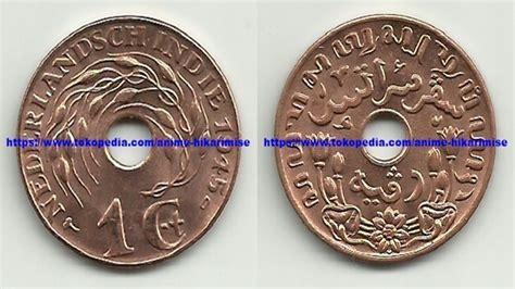 jual uang kuno hindia belanda 1 cent th 1945