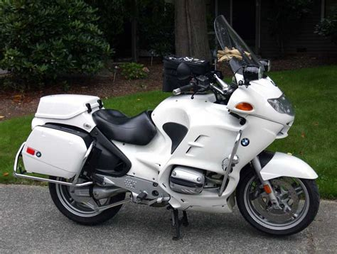 Bmw R1150rt-p Mine Has More Police Lights And Faux Sherrif
