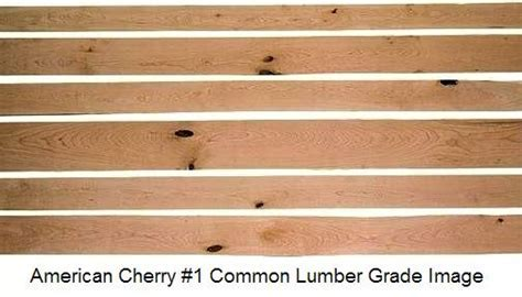 Wood Work Cherry Hardwood Lumber PDF Plans