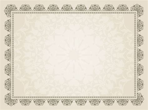 decorative certificate background   vector