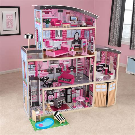 playsets charming kidkraft majestic mansion dollhouse