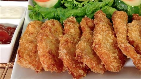 easy chicken nuggets quick finger food recipes
