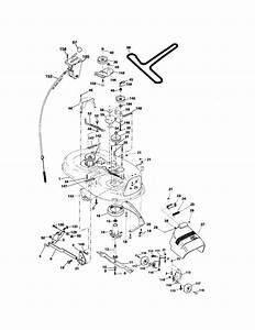 917 276820 Craftsman Lawn Tractor 20 Hp 42 Inch Mower