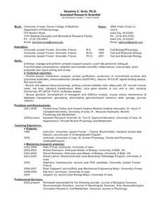phd resume for industry resume industry