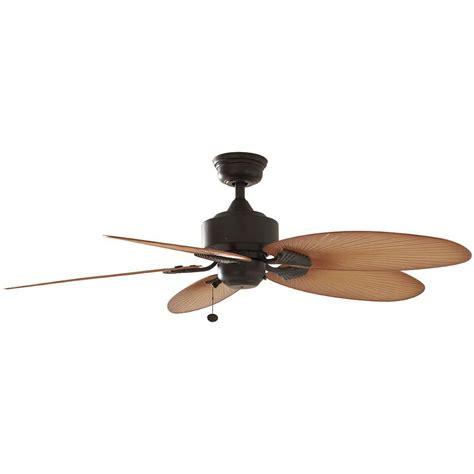 bronze outdoor ceiling fan hton bay lillycrest 52 in indoor outdoor aged bronze