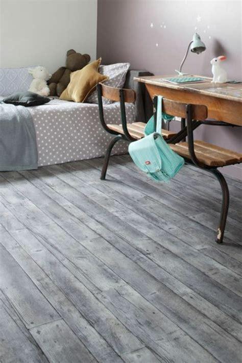 parquet gris chambre poser du lino dans votre demeure idées en photos