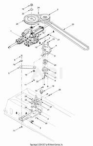 Mtd 13an683g163  2003  Parts Diagram For Drive  U0026 Transmission