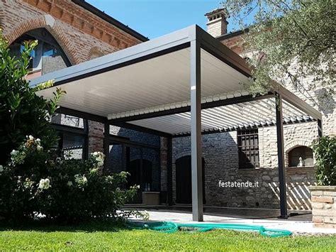 pergole in alluminio per terrazzi pergole in alluminio per terrazzi con tenda scorrevole o
