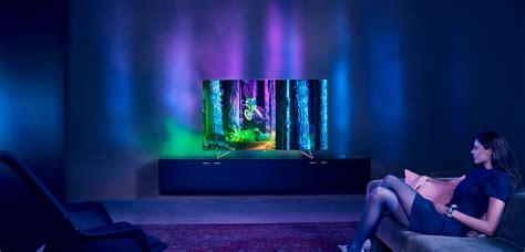 Tv 4k Philips Ambilight Smart Tv Philips Android Tv 4k Hdr Ambilight Et Ambilux Avec Des Picoprojecteurs