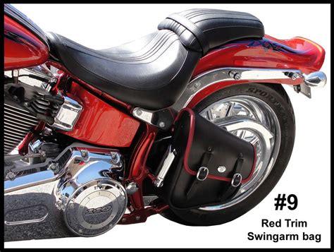 Motorcycle Saddlebags Hd Harley Davidson Softail, Springer