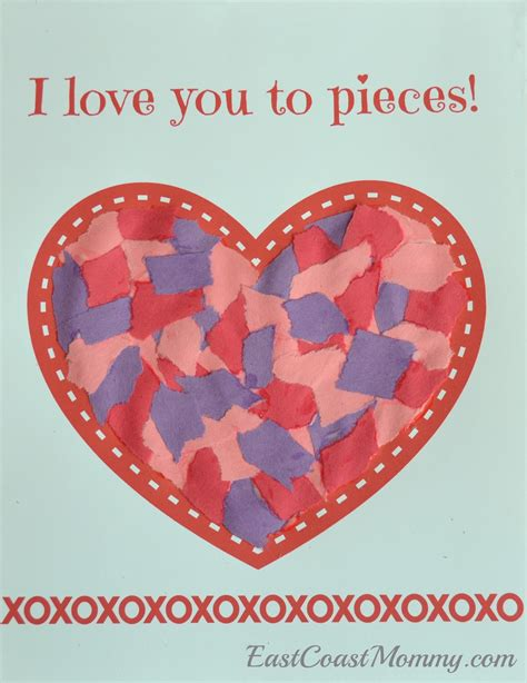 valentines day crafts preschool east coast simple s day craft for 250