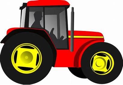 Tractor Clip Clker Vector Clipart