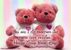 Teddy Bears Mot... Cute Bear Quotes