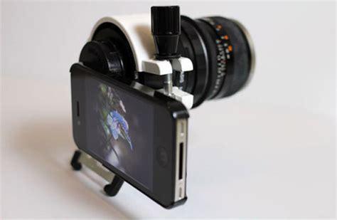 iphone dslr lens iphone 4 dslr lens craziest of the day technabob