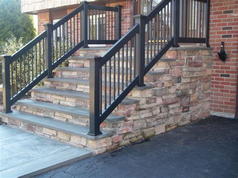concrete front steps design ideas creating designing