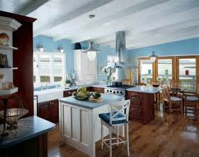 kitchens with island blue kitchen inspiration ideas