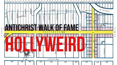 hollywood walk  fame   map   crucifixion