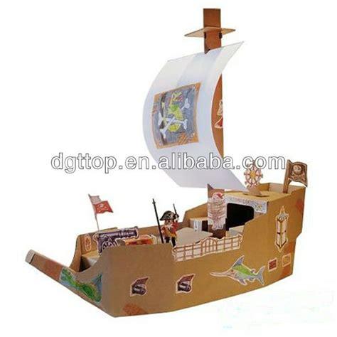 Pirate Ship Cardboard Boat by Cardboard Pirate Ship Model αναζήτηση μοντέλα