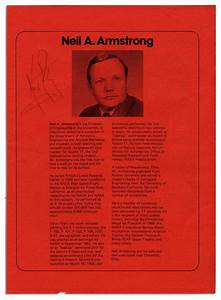 Brochure Neil Armstrong (page 2) - Pics about space